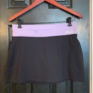 FILA black athletic skort size small skirt